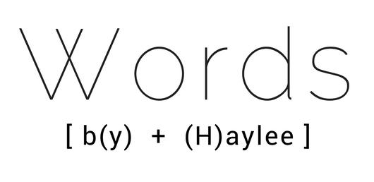 Words (3)